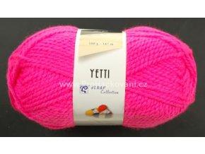 příze Yetti 50014 Neon růžová