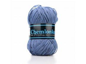 příze Chemlonka 537 tmavě modrá
