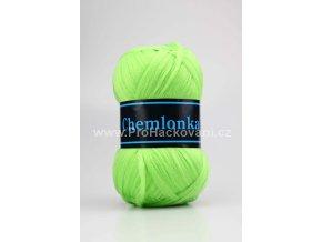 příze Chemlonka 615 neon zelená