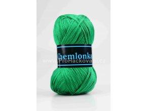 příze Chemlonka 600 zelená