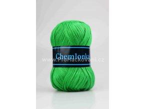 příze Chemlonka 600B zelená