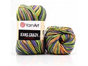 Gina Crazy 8213 zelená, oranžová, fialová