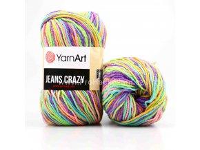 Gina Crazy 8215 růžová, fialová, modrá, zelená