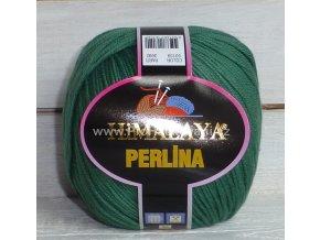 příze Perlina 50139 trávově zelená