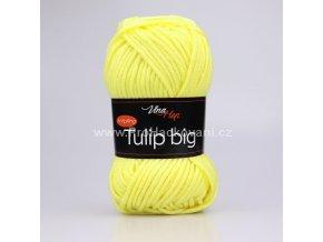 příze Tulip Big 4186 žlutá