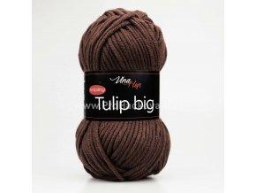 příze Tulip Big 4220 čokoládově hnědá