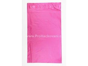 Plastová obálka růžová 17,5 x 25,5 cm