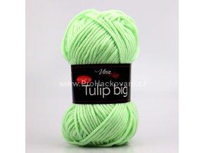příze Tulip Big 4158 pastelová mentolová