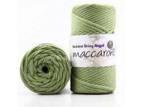 šňůry Abigail 5 mm 21-804 světlé olivové