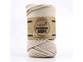 Macrame Rope 4 mm béžové