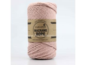 Macrame Rope 4 mm starorůžové0912L
