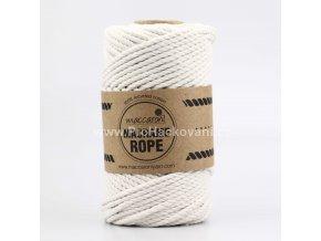 Macrame Rope 4 mm krémová
