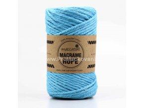 Macrame Rope 4 mm tyrkysová