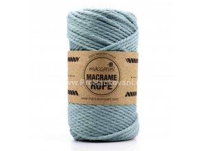Macrame Rope 4 mm světlá aqua