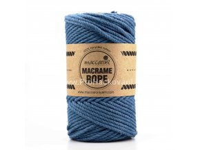 Macrame Rope 4 mm jeans