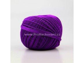 Háčkovací příze Sněhurka 4494 fialová