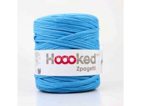 Hooked Zpagetti tyrkysově modré