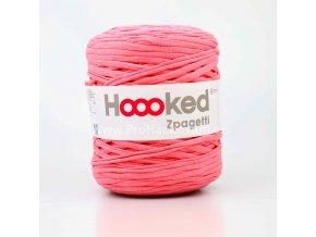 Hooked Zpagetti lososově růžové