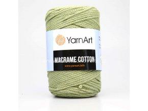 Macrame Cotton 793 světlá olivová