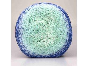 Puzzle smetanová, mintová, modrá