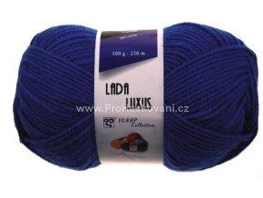 příze Lada Luxus 56980 švestková modrá