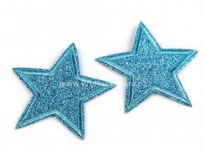 nazehlovacka hvezda tyrkysova