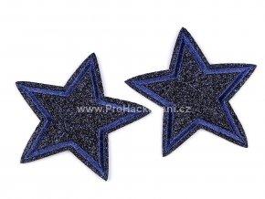nazehlovacka hvezda tmave modra