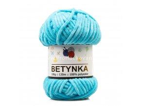 příze Betynka 326 azurově modrá