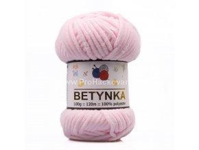 příze Betynka 303 pastelově růžová