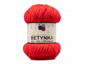 příze Betynka 318 červená