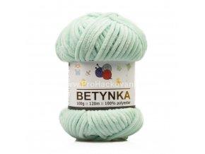 příze Betynka 307 pastelově zelená