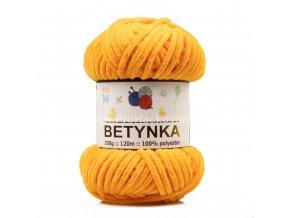 příze Betynka 316 slunečnicově oranžová