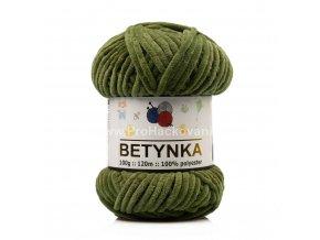příze Betynka 361 olivově zelená