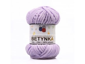příze Betynka 305 pastelově fialová