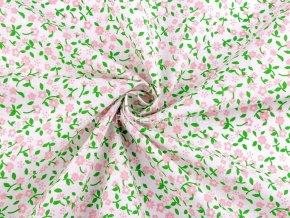 latka ruzove kvety na zelenem stonku