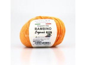 příze Bambino Baby Cotton 70207 pomerančová