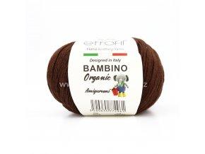 příze Bambino Baby Cotton 70079 hnědá