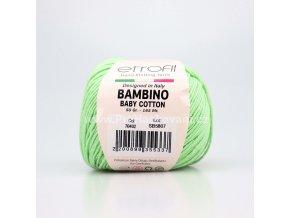 příze Bambino Baby Cotton 70402 mint
