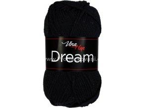 příze Dream 6001 černá