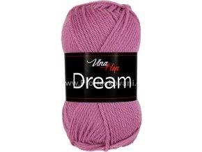 příze Dream 6413 starofialová