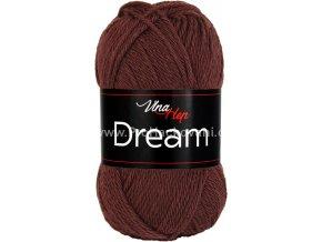 příze Dream 6407 hnědá