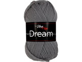 příze Dream 6410 antracit