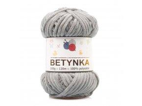 příze Betynka 351 šedá