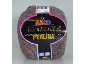 příze Perlina 50114 hnědý melír