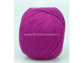 příze Perlina 50137 fuchsiově fialová