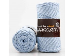 šňůry Abigail 3 mm 50-201 pastelově modré