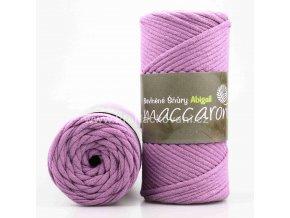 šňůry Abigail 3 mm 31-404 fialová
