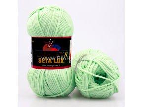 příze Seta Lux 20529 pastelově zelená