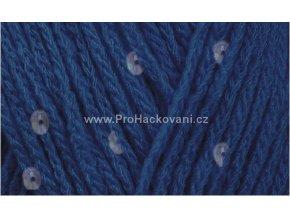 příze Buket 20313 modrá s flitry