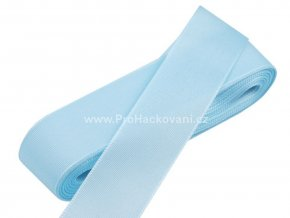 taftova stuha svetle modra